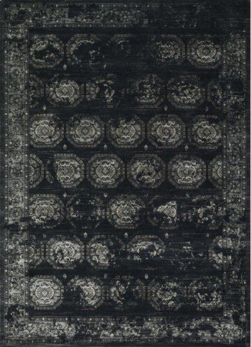 Black / Charcoal Rug