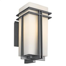 "Tremillo Collection Tremillo 20"" Outdoor Wall Light in Black"