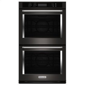 """30"""" Double Wall Oven with Even-Heat True Convection - Stainless Steel with PrintShield™ Finish"""