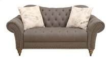 Emerald Home Soriana Loveseat W/2 Accent Pillows Tobacco U3762-01-05