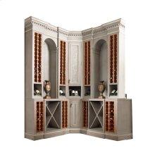 Sonoma Wine Corner Cabinet