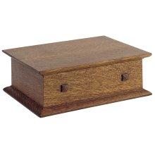 Oak Desk Box