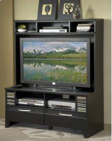 Black Plasma TV Stand Top