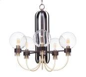 Bauhaus 5-Light Chandelier