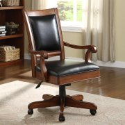 Bristol Court - Desk Chair - Cognac Cherry Finish Product Image