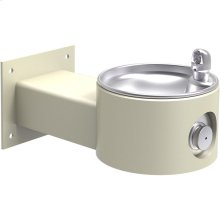 Elkay Outdoor Fountain Wall Mount, Non-Filtered Non-Refrigerated, Beige