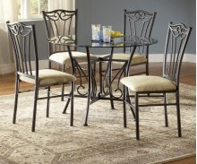 Heritage Glass Casual Dining Table