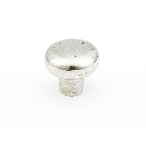 """Britannium, Artifex, Round Knob, 1-5/8"""" diameter, Natural finish"""