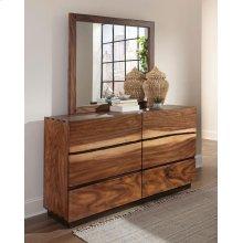 Rustic Smoky Walnut Dresser