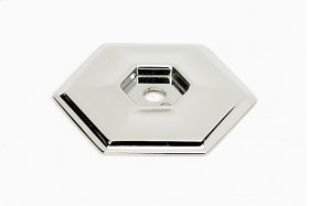 Nicole Backplate A425 - Polished Nickel