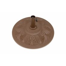"""Cast Aluminum Umbrella Base 50 lbs. 1 1/2"""" Neck. Also available is the M9751 (80 lbs.)"""
