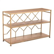 Equis Console Table Brown