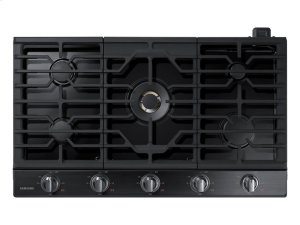 "36"" Gas Cooktop with 22K BTU Dual Power Burner Product Image"