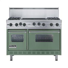 "Mint Julep 48"" Sealed Burner Self-Cleaning Range - VGSC (48"" wide, four burners & 24"" wide char-grill)"