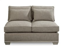 Arch Salvage Jardin Two Cushion Armless Loveseat