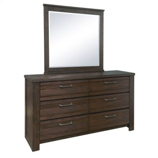 Salvage Loft Dresser and Mirror