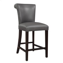 "24"" Barstool-kd-pu Gray#al850-3 Set Up"