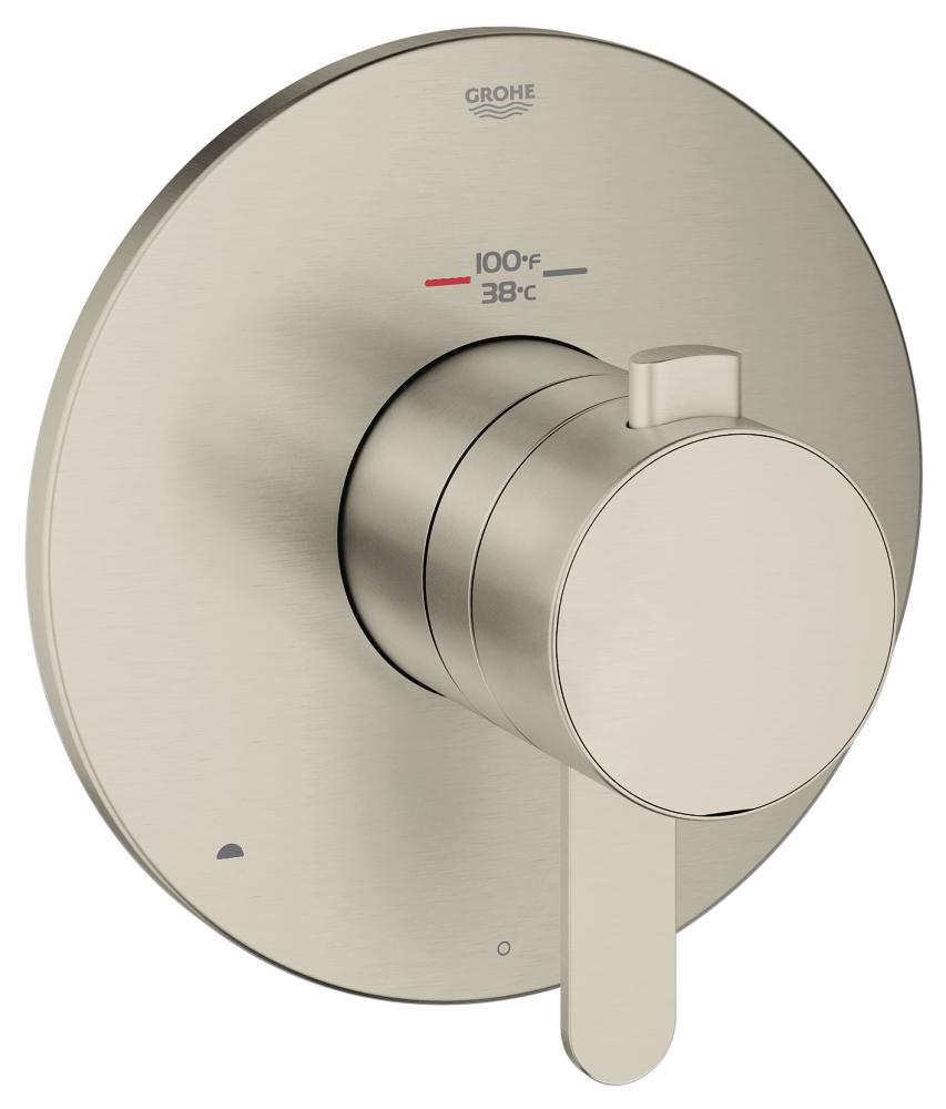 Europlus Dual Function Thermostatic Trim with Control Module
