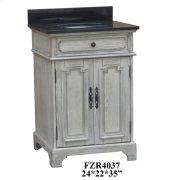 """Isabelle 2 Door 24"""" Vanity Sink Product Image"""