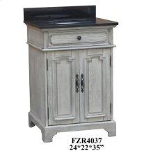 """Isabelle 2 Door 24"""" Vanity Sink"""