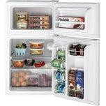 GE ®double-Door Compact Refrigerator