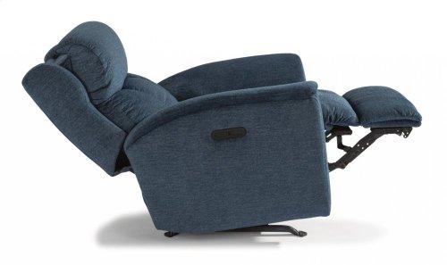 Luna Fabric Power Recliner with Power Headrest