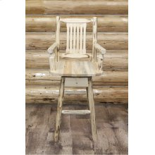 Montana Captains Swivel Barstool
