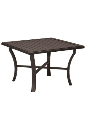 """Banchetto 42"""" Square Dining Table"""