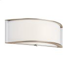 Arcola Collection Arcola 1 Light Fluorescent Wall Sconce - PN Product Image
