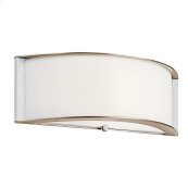 Arcola Collection Arcola 1 Light Fluorescent Wall Sconce - PN