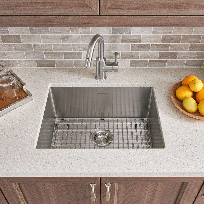 Pekoe Extra Deep Undermount 23x18 Single Bowl Kitchen Sink American Standard Stainless Steel