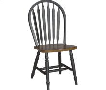 Small Windsor Chair Aged Ebony & Espresso