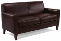 Digby Leather Two-Cushion Sofa Product Image