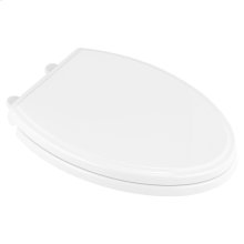 Traditional Elongated Toilet Seat  American Standard - White