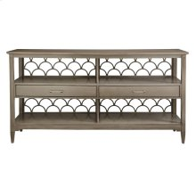 Oasis-Sea Cloud Sideboard in Grey Birch