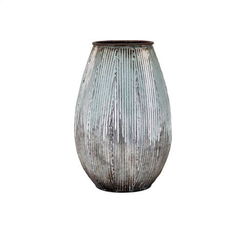 Robinson Small Metal Vase