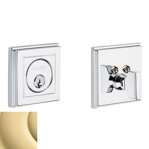 Non-Lacquered Brass Hollywood Hills Deadbolt