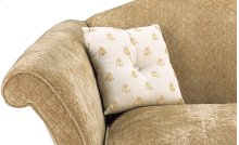 Welted Square Buttoned Pillow