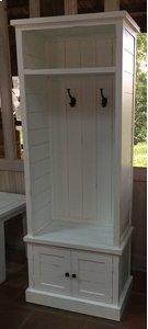 Artisan's Craft Hall Tree Base - Dakota Oak Product Image