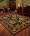 Jaipur Ja18 Blk Rectangle Rug 5'6'' X 8'6''