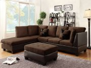 Sectional Set W/free Ottoman Product Image