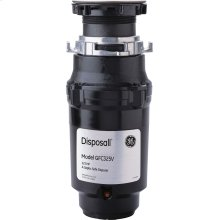 GE® 1/3 HP Continuous Feed Garbage Disposer - Corded