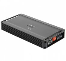 D class monoblock mobile audio amplifier in Black