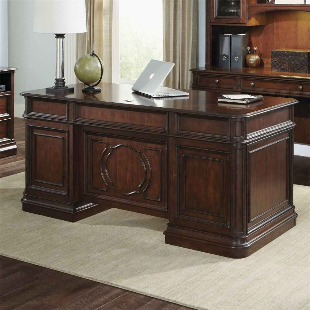 Swell 273Ho105Tliberty Furniture Industries Jr Executive Desk Top Home Interior And Landscaping Mentranervesignezvosmurscom