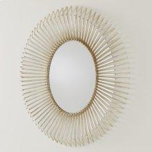 Andreas Mirror-Silver Leaf