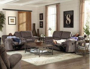 CATNAPPER 62409-2792-26PRL Power Lay Flat Recl Console Loveseat w/Storage & Cupholders