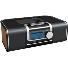 """XM Ready"" Hi-Fi Desktop Radio with DVD Media Center"