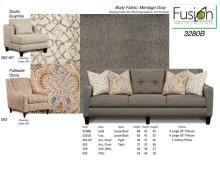 3280B - Sofa - Meritage Gray