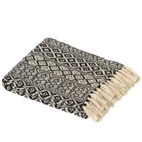 Black & White Tribal Pattern Throw Product Image