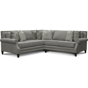 England Furniture Palmer Sectional With Nails 7l00n-Sect